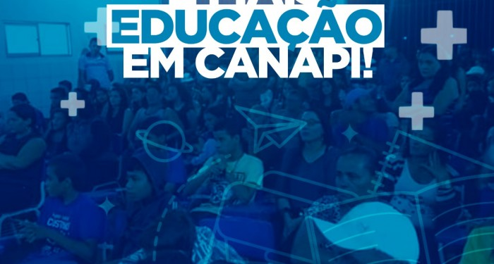Prefeito Vinícius Lima dá aula de valorização aos profissionais da Educação.