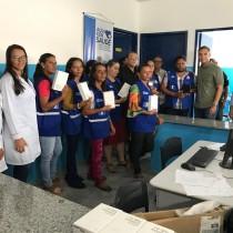 PREFEITURA DE CANAPI PROMOVE CAPACITAÇÃO, OFERECENDO FERRAMENTAS TECNOLÓGICAS AOS AGENTES DE SAÚDE E ENFERMEIROS PARA AGILIDADE DOS SERVICOS.