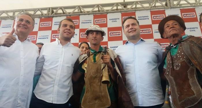 Governador Renan Filho elogia a gestão Vinícius Lima  e traz benefícios para os canapienses