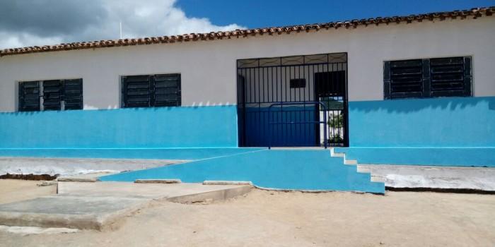 Escolas da rede municipal estão sendo recuperadas