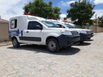 Vinícius Lima investe recursos próprios e município recebe mais duas Ambulâncias