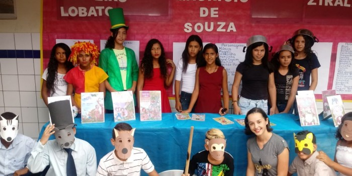Escola realiza culminância de Projeto de Leitura