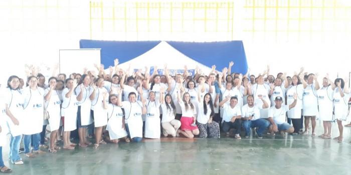 Merendeiras das Escolas Municipais de Canapi recebem Treinamento