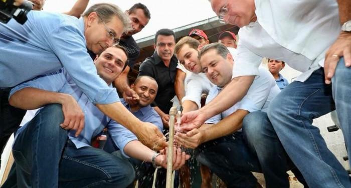 Prefeito Vinícius Lima finaliza obras de instalação de Poços Artesianos