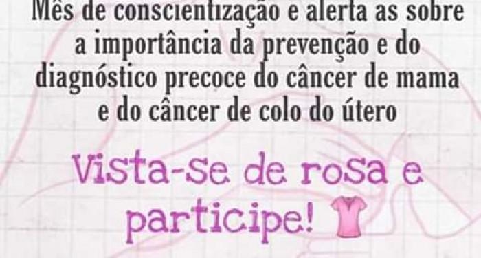 """Com apoio do Prefeito Vinícius Lima, a Secretaria de Saúde de Canapi promove com sucesso Campanha """"Outubro Rosa""""!"""